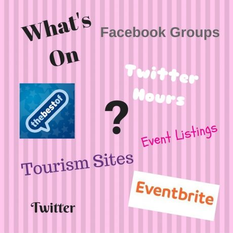 Posting your event details on social media or websites