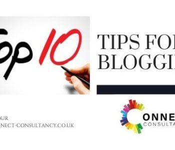 Top ten tips for blogging